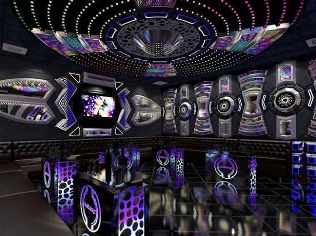 Thi công phòng karaoke