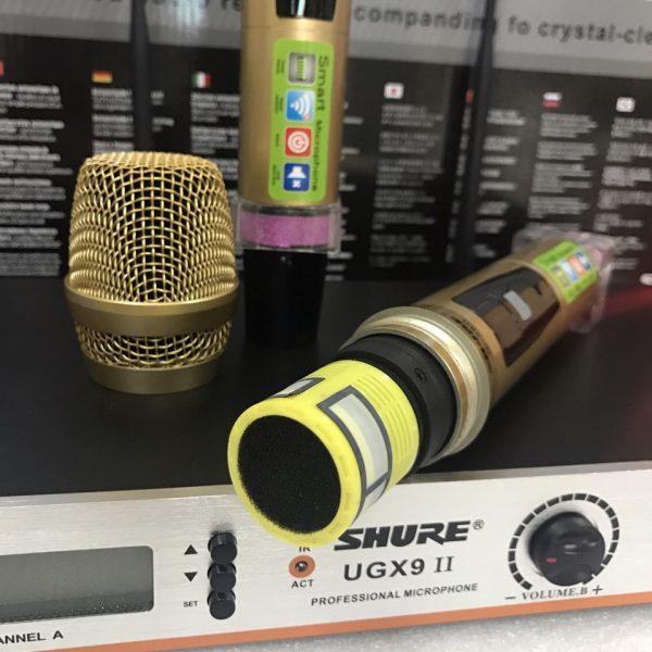 micro không dây UGX9 II